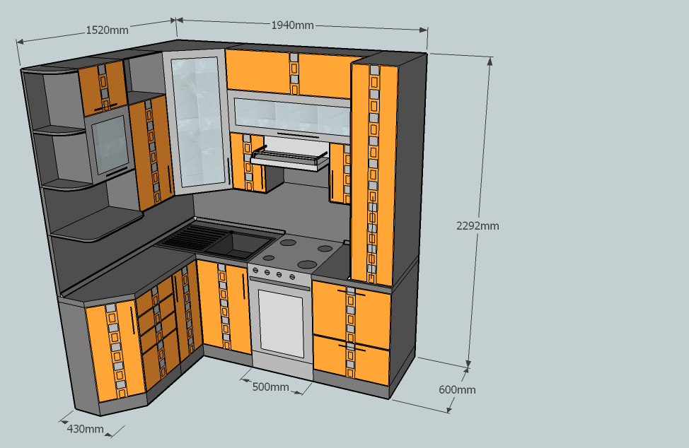 свята как сделать самой модель кухни Территориального отдела службы